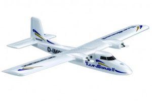 ...модель самолета (ARF), инструкция по сборке, цветные наклейки.